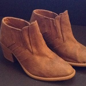 Qupid high heel ankle boots